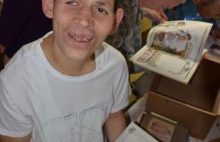 Knižný dar od Maďarskej Maltézskej pomoci