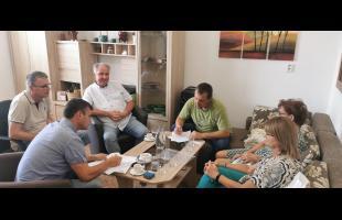 Administratívne-protokolárne odovzdanie stavenísk