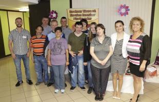 naša skupina v Püspökladány